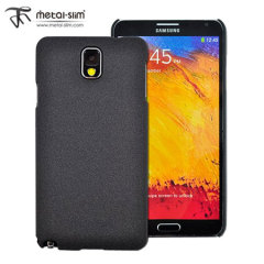Metal-Slim UV Protective Case for Samsung Galaxy Note 3 - Black