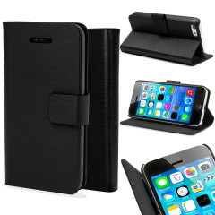 Metalix Book Apple iPhone 5C Case - Black