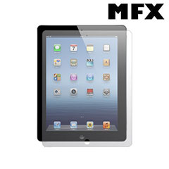 MFX Anti Glare and Anti Scratch Screen Protector for iPad  4 / 3 / 2