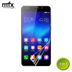 MFX Huawei Honor 4X Screen Protector 5-in-1 Pack