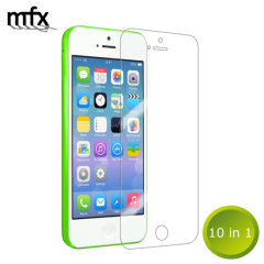 MFX iPhone 5C Screen Protector 10-in-1 Pack