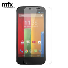 MFX Moto G Tempered Glass Screen Protector
