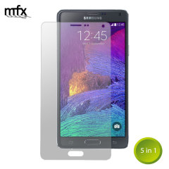 MFX Samsung Galaxy Note 4 Screen Protector 5-in-1 Pack