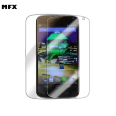 MFX Screen Protector  5-in-1 Pack - Google LG Nexus 4