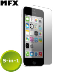 MFX Screen Protector  5-in-1 Pack - iPhone 5C