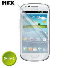 MFX Screen Protector 6-in-1 Pack - Samsung Galaxy S3 Mini
