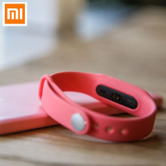 Mi Band Pulse Fitness Monitor and Sleep Tracker - Pink
