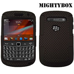 MightyBox Double Protection Case for BlackBerry Bold 9900 - Black