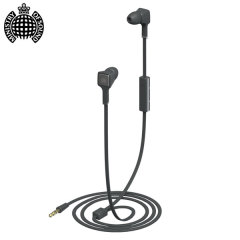 Ministry Of Sound Audio In Earphones - Charcoal / Gun Metal