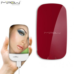 MIPOW Portable Charging 3000mAh Mirror Power - Red