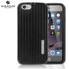 Miracase Anti-Shock Anti-Scratch iPhone 6 Shell Case - Black