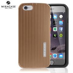 Miracase Anti-Shock Anti-Scratch iPhone 6 Shell Case - Gold