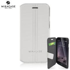 Miracase Karson iPhone 6S / 6 Wallet Case - White