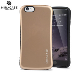 Miracase Phisy Anti-Shock iPhone 6 Shell Case - Gold