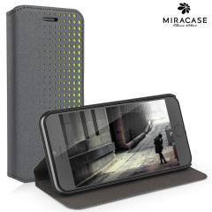 Miracase Starry iPhone 6 Book Flip Stand Case - Grey
