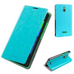 MOFI Rui Series Nokia XL Folio Stand Case - Blue