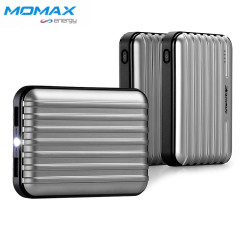 Momax iPower Go+ External Battery Pack 11200mAh - Silver
