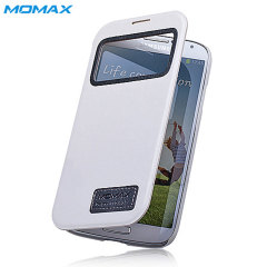 Momax Samsung Galaxy S4 Stand View Case - White
