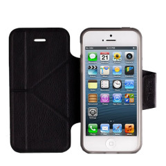 Momax The Core Smart Case for iPhone 5S / 5 - Black