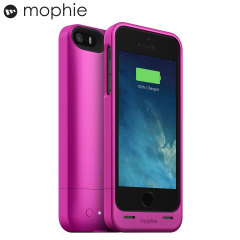 Mophie iPhone 5S / 5 Juice Pack Helium Battery Case - Pink