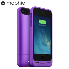 Mophie iPhone 5S / 5 Juice Pack Helium Battery Case - Purple