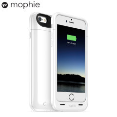 Mophie iPhone 6S / 6 Juice Pack Plus Rugged Battery Case - White