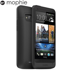 Mophie Juice Pack Case for HTC One - Black