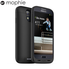 Mophie Juice Pack Case for Samsung Galaxy S4 - Black