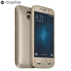 Mophie Juice Pack Samsung Galaxy S6 Battery Case - Gold