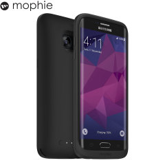 Mophie Juice Pack Samsung Galaxy S7 Edge Wireless Battery Case - Black