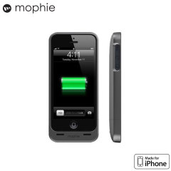 Mophie MFi Juice Pack Helium Case for iPhone 5S / 5 - Charcoal