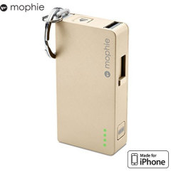 Mophie Power Reserve 1350mAh Power Bank - Gold