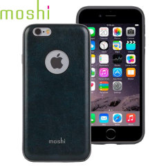 Moshi iGlaze Napa iPhone 6S / 6 Vegan Leather Case - Blue