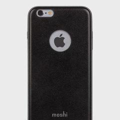 Moshi iGlaze Napa iPhone 6S Plus / 6 Plus Vegan Leather Case - Black