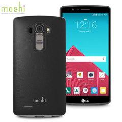 Moshi iGlaze Napa LG G4 Vegan Leather Case - Black