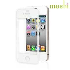 Moshi iVisor AG Anti Glare Screen Protector for iPhone 4S / 4 - White