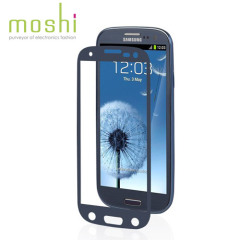 Moshi iVisor Anti Glare Screen Protector for Samsung Galaxy S3 - Blue