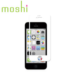 Moshi iVisor Glass Screen Protector for iPhone 5S / 5C / 5 - White