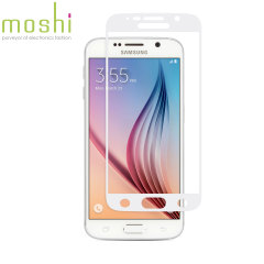 Moshi iVisor Samsung Galaxy S6 Glass Screen Protector - White