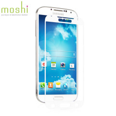 Moshi iVisor XT Screen Protector for Samsung Galaxy S4 - White