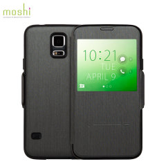 Moshi SenseCover Samsung Galaxy S5 Smart Case - Black