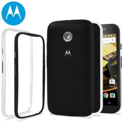 Motorola Moto E 2nd Gen Color Bands - 2 Pack - Black and White
