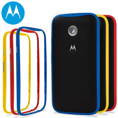 Motorola Moto E 2nd Gen Color Bands - 3 Pack - Red, Blue, Yellow