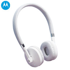 Motorola Moto Pulse Bluetooth Headphones - White