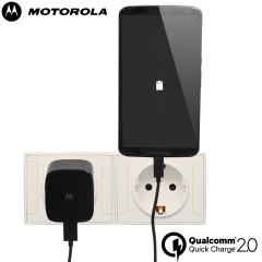 Motorola Turbo Charger with Qualcomm Quick Charge 2.0 - EU Mains
