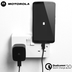 Motorola TurboPower 15 Mains Charger - Black