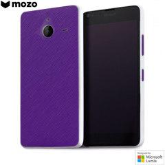 Mozo Microsoft Lumia 640 XL Back Cover Case - Purple
