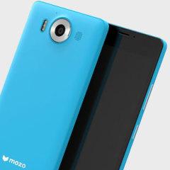 Mozo Microsoft Lumia 950 Wireless Charging Back Cover - Blue