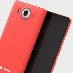 Mozo Microsoft Lumia 950 Wireless Charging Back Cover - Coral