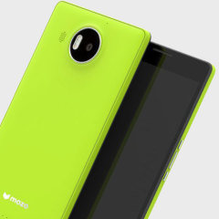 Mozo Microsoft Lumia 950 XL Wireless Charging Back Cover - Green